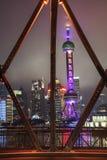 Ландшафт Шанхая Стоковая Фотография RF