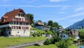 Ландшафт Швейцарии Стоковые Изображения
