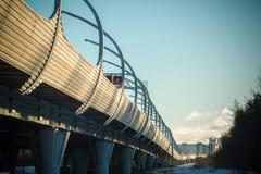 Ландшафт шоссе и дорог города городской Стоковое Фото