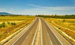 Ландшафт шоссе Стоковые Фотографии RF