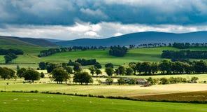 Ландшафт Шотландии, Великобритания Стоковые Изображения RF
