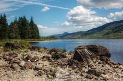 Ландшафт Шотландии Стоковое фото RF