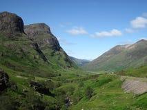 Ландшафт Шотландии Стоковые Фотографии RF