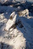 Ландшафт львов пиковый воздушный Стоковая Фотография