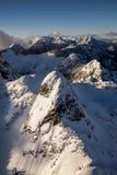 Ландшафт львов пиковый воздушный Стоковое фото RF