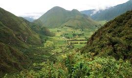 Ландшафт эквадора стоковые изображения rf