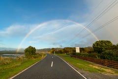 Ландшафт южного острова, Новой Зеландии Стоковое фото RF