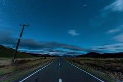 Ландшафт южного острова, Новой Зеландии Стоковое Фото