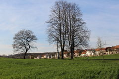 Ландшафт южной Моравии, чехии Стоковые Изображения RF