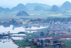 Ландшафт Юньнань Стоковые Изображения