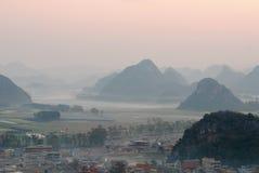 Ландшафт Юньнань Стоковая Фотография