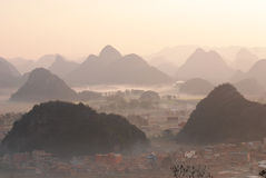 Ландшафт Юньнань Стоковые Фото