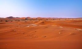 Ландшафт дюн в пустыне Namib Стоковое Изображение