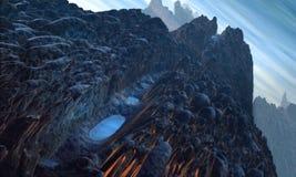 ландшафт 2 чужеземцев Стоковая Фотография