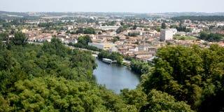 Ландшафт Angouleme Стоковая Фотография RF