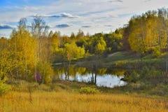 Ландшафт Autum Стоковая Фотография RF