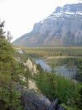 Ландшафт Banff с Hoodoos Стоковое фото RF