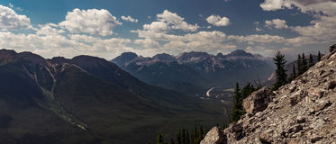 Ландшафт Banff Стоковые Фото