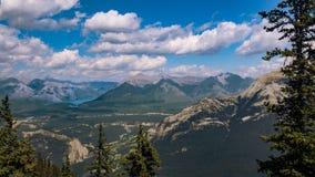 Ландшафт Banff Стоковая Фотография