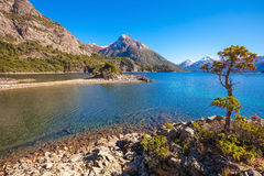 Ландшафт Bariloche в Аргентине Стоковые Изображения
