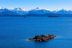 Ландшафт Bariloche в Аргентине Стоковое Фото