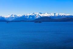 Ландшафт Bariloche в Аргентине Стоковые Фото