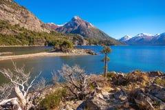 Ландшафт Bariloche в Аргентине Стоковые Изображения RF