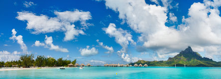Ландшафт Bora Bora стоковое фото