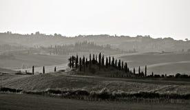 Ландшафт Chianti стоковое фото rf