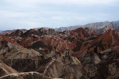 Ландшафт Danxia Стоковая Фотография RF