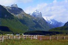 Ландшафт Glenorchy Новой Зеландии NZ NZL Стоковые Фото
