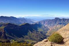 Ландшафт Gran Canaria Стоковые Фото