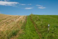 Ландшафт Kaszuby Стоковая Фотография RF