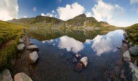"Ландшафт  Kidney†""The озера Rila's (Babreka), Болгарии Стоковое Изображение RF"