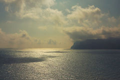 Ландшафт Koktebel Крыма Стоковое Изображение RF