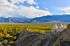 Ландшафт Leh, Ladakh Стоковые Изображения RF