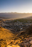 Ландшафт Leh Lakdh стоковая фотография rf