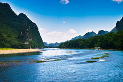 Ландшафт li jiang стоковые изображения