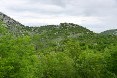 Ландшафт Montenegrian Стоковые Изображения RF