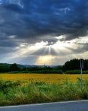 Ландшафт Mugello Флоренс Borgosanlorenzo Италия Тоскана Стоковые Изображения