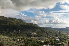 Ландшафт Muontains Стоковое фото RF