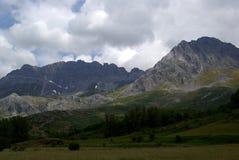 Ландшафт Picos de Европа горы Стоковое фото RF