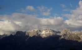 Ландшафт Picos de Европа горы Стоковое Изображение