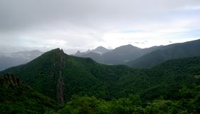 Ландшафт Picos de Европа горы Стоковые Изображения