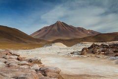Ландшафт Pierdras Rojas Стоковое Изображение RF