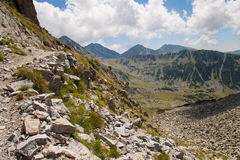 Ландшафт Pirin горы Стоковые Фото