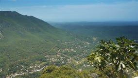 Ландшафт Pre Alpes панорамы в южной Франции сток-видео
