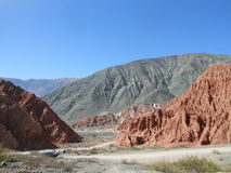 Ландшафт Purmamarca Стоковое фото RF