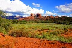Ландшафт Sedona, США Стоковое Изображение