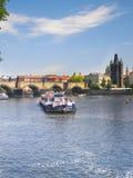 Ландшафт Sity Река Sity голубая вода Стоковая Фотография RF